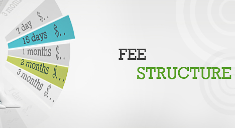 Fee Structure (oLD PAGE)